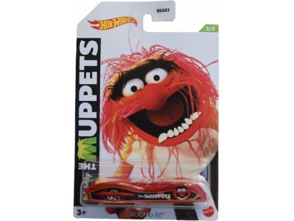Toys Hot Wheels Disney The Muppets Ground Fx