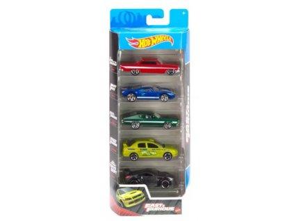 Toys Hot Wheels Fast and Furious 5ks angličáky