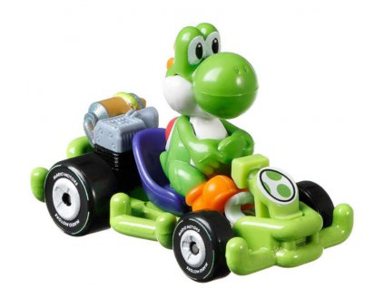 Toys Hot Wheels Mario Kart Yoshi Pipe Frame DieCast