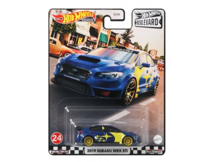 Toys Hot Wheels Premium Boulevard 2019 Subaru WRX Sti