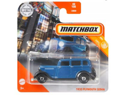 Toys Matchbox 1933 Plymouth Sedan