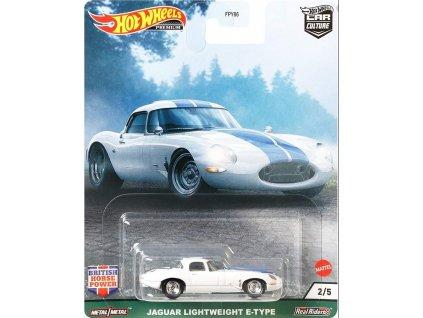 Toys Hot Wheels Premium Car Culture Jaguar Lightweight E Type