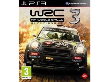 PS3 WRC FIA World Rally Championship 3
