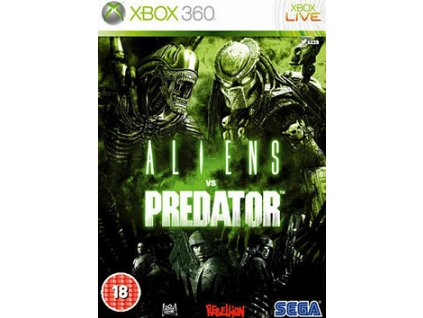 X360 Aliens vs Predator