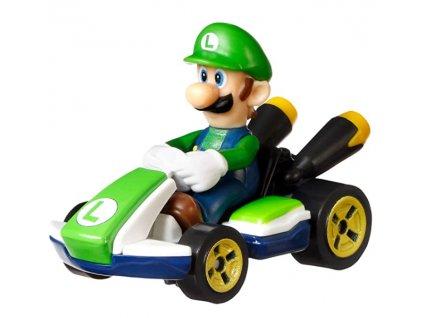 Toys Hot Wheels Mario Kart Luigi Standard Kart DieCast