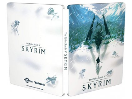 PS4 The Elder Scrolls V Skyrim Special Edition Steelbook