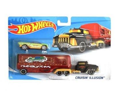 Toys Hot Wheels Super Rigs Cruisin Illusion