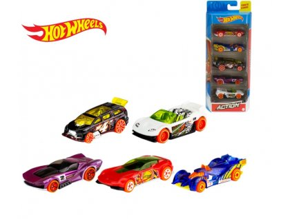 Toys Hot Wheels Action 2 5ks angličáky