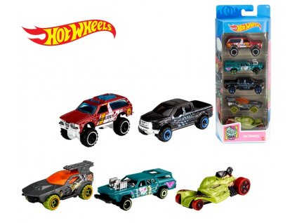 Toys Hot Wheels Hw Zombies 5ks angličáky