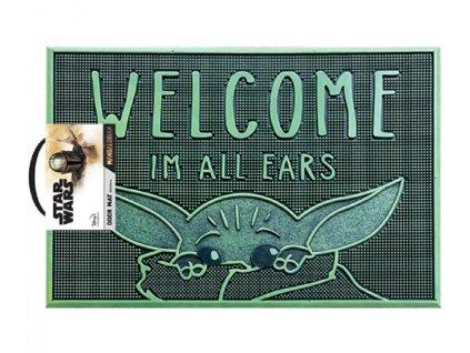 Merch Rohožka Star Wars Welcome Im All Ears