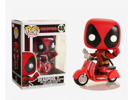 Merch Funko Pop! 48 Deadpool and Scooter
