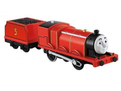 Toys Thomas and Friends Trackmaster Motorized Railway Train With WagonJames