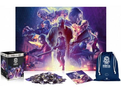 Merch Puzzle Resident Evil 25th Anniversary 1000 dílků