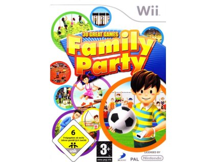 Wii Family Party