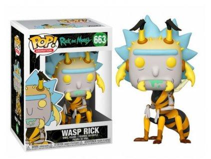 Merch Funko Pop! 663 Animation Rick and Morty Wasp Rick