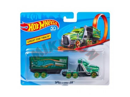 Toys Hot Wheels Track Stars Trailers Speed Hauler