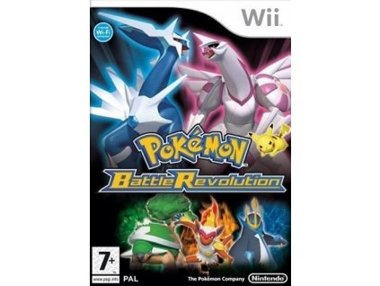 Wii Pokemon Battle Revolution