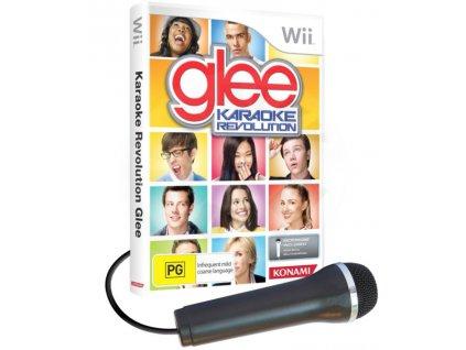 Wii Glee Karaoke Revolution mikrofon