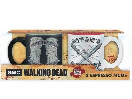 Merch Espresso Set The Walking Dead Daryl VS Negan