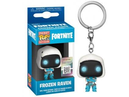 Merch Klíčenka Funko Pocket Pop! Fortnite Frozen Raven
