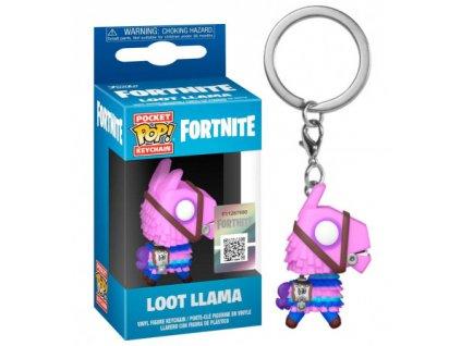 Merch Klíčenka Funko Pocket Pop! Fortnite Loot Llama