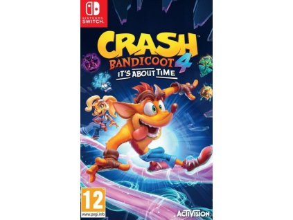 Switch Crash Bandicoot 4 Its About Time