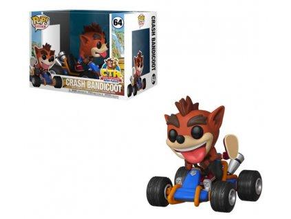 Merch Funko Pop! 64 Crash Team Racing Crash Bandicoot