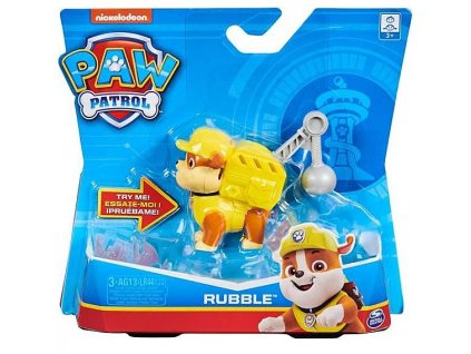 Toys Figurka Paw Patrol Action Pack Pup Rubble