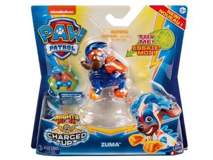 Toys Figurka Paw Patrol Mighty Pups Charged Up Zuma