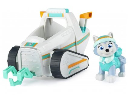 Toys Auto Paw Patrol Everest Snow Plow Vehicle With Pup