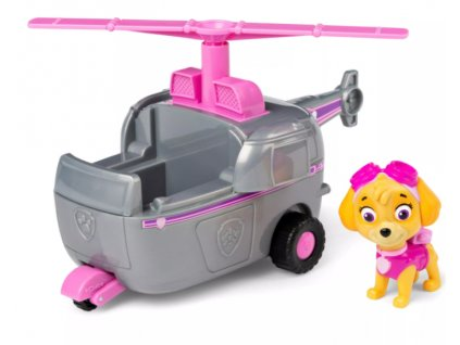Toys Auto Paw Patrol Skye Helicopter Vehicle With Pup