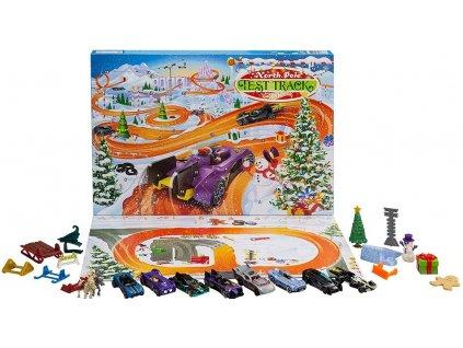 Toys Adventní kalendář Hot Wheels 2021