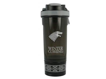 Merch Láhev Šejkr Game of Thrones Stark 850 ml