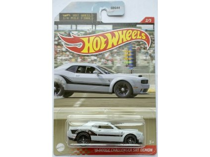 Toys Hot Wheels 18 Dodge Challenger SRT Demon