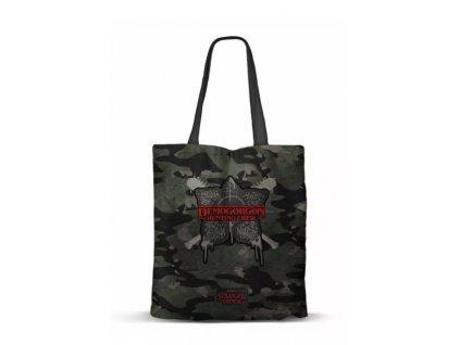 Merch Taška Stranger Things Demogorgon Shopping Bag