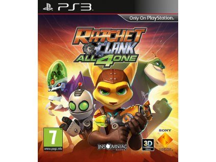PS3 Ratchet and Clank All 4 One