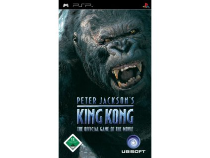 PSP Peter Jacksons King Kong The Official Game of the Movie
