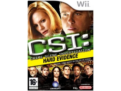 Wii CSI Crime Scene Investigation Hard Evidence