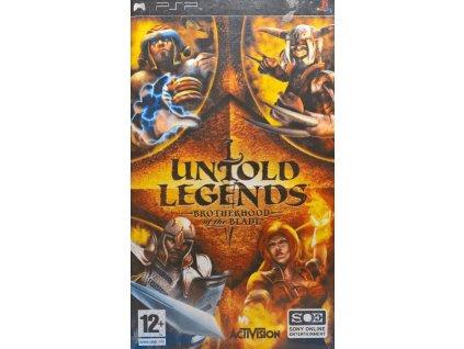 PSP Untold Legends Brotherhood of the Blade