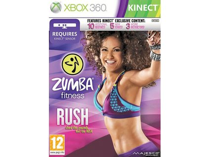 zumba fitness rush kinect X360