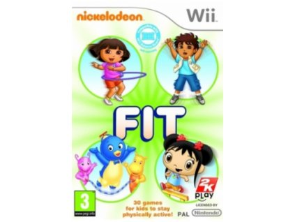 Wii Nickelodeon Fit