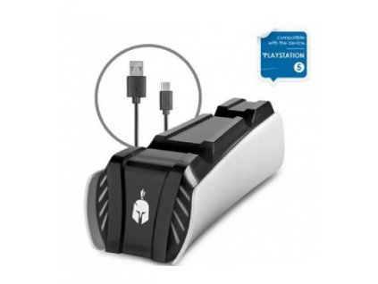 PS5 Spartan Gear Dual Charging Dock Station