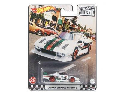 Toys Hot Wheels Premium Boulevard Lancia Stratos Group 5
