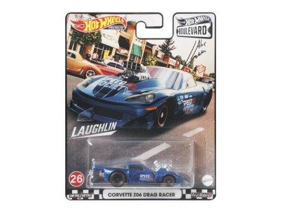 Toys Hot Wheels Premium Boulevard Corvette Z06 Drag Racer