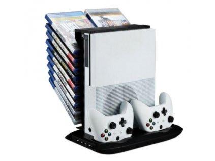 XONE Vertikální stojan 4v1 pro Xbox One S