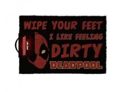 Merch Rohožka Deadpool 60x40cm