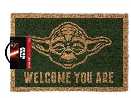 Merch Rohožka Star Wars Yoda 60x40cm