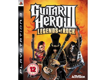 PS3 Guitar Hero 3 Legends of Rock