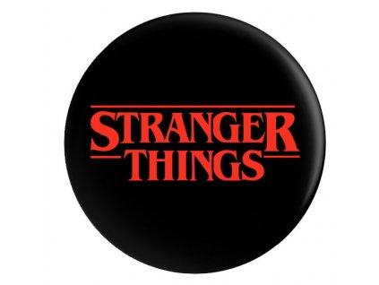 Merch Odznáček Stranger Things Logo