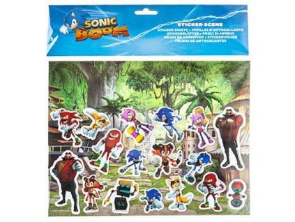 Merch Samolepky Sonic Boom